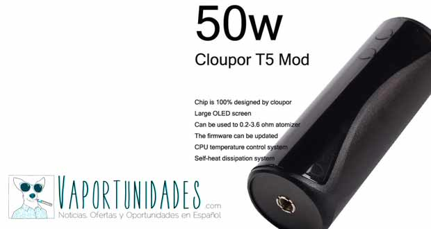 cloupor t5 mod