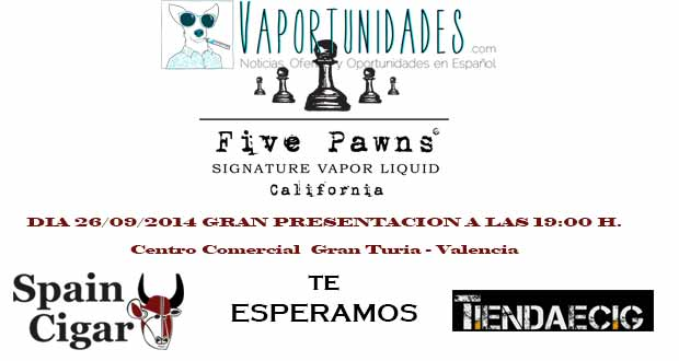 five pawns california presentacion valencia spain cigar spaincigar