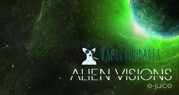 vapescencia alien visions e juice liquidos