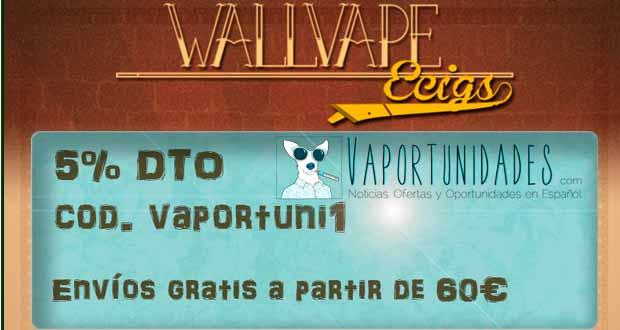wallvape ecigs bienvenida