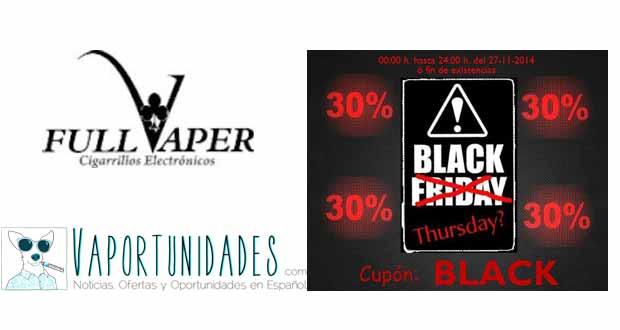 black thursday jueves full vaper