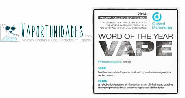 vapear palabra internaionaloxford diccionario