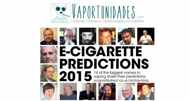 predicciones cigarrillos electronicos 2015