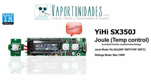 yihi yihiecigar chip joule temperatura control 120W