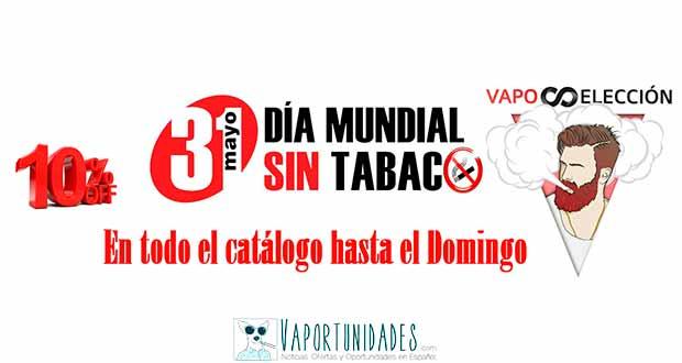 Día mundial sin tabaco - En Vaposeleccion