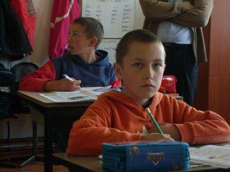 Ungarische Klasse der Grundschule in Turea