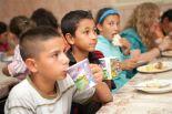 """Romakinder-Freizeit in der """"Cabana"""" des Christiana-Zentrums im August 2012"""