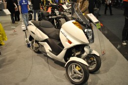 Eldriven 3-hjuling