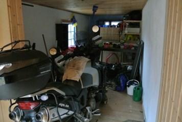 Garage utrymmet