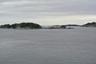 Some islands outside Strömstad