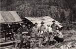 La o stână în Valea Mare în 1968 cu Grigore şi Mărina Ilovan