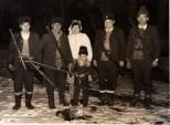 Vânătoare la Parva cu Ioan Onoaie în 1989
