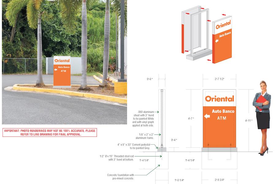 Oriental at University Plaza Mayaguez Direccionales.cdr