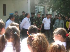 Անակնկալ հանդիպում ՀՀ պաշտպանության նախարար Սեյրան Օհանյանի հետ