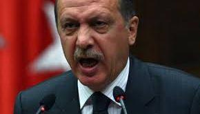 Recep Tayyip Erdogan, forseti Tyrklands,.