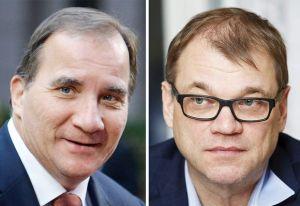Stefan Löfven og Juha Sipilä