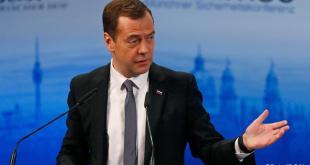 Dmitríj Medvedev, forsætisráðherra Rússlands.