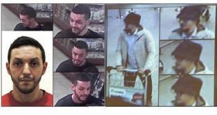 Mohamed Abrini - er hann maðurinn með hattinn?