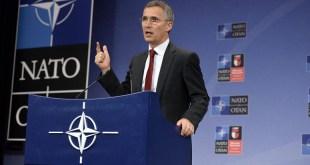 Jens Stoltenberg kynnir væntanlegan leiðtogafund NATO.