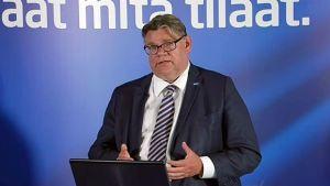 Timo Soini, utanríkisráðherra Finna.