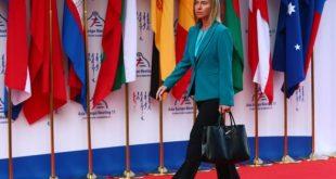 Frederica Mogherini, utanríkis- og öryggismálastjóri NATO.