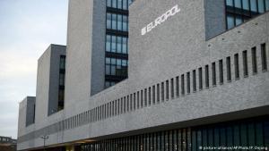 Höfuðstöðvar Europol í Haag, Hollandi.