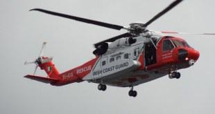 Björgunarþyrla írsku strandgæslunnar af Sikorsky S-92 gerð.