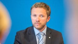 Margus Tsahkna, varnarmálaráðherra Eistlands.