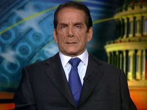 Charles Krauthammer.