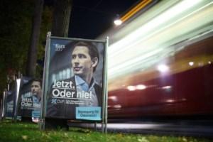 Sebastian Kurz, utanríkisráðherra og formaður mið-hægriflokksins ÖVP.