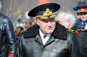 Vladimir Koroljov aðmíráll, yfirmaður rússneska flotans.
