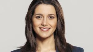 Inés Arrimadas, sigurvegari kosninganna í Katalóníu.