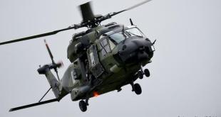 NH90 flutningaþyrla.