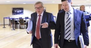 Jean-Claude Juncker og Martin Selmayr.