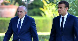 Gérard Collomb og Emmnanuel Macron.