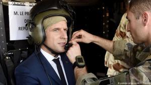 Emmanuel Macron Frakklandsforseti.