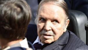 Abdelaziz Bouteflika, forseti Alsírs.