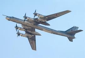 Rússnesk sprengjuþota, Tupolev Tu-142 (Bear F) .