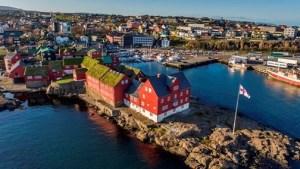 Stjórnarbyggingar Færeyja eru á Þinganesi í Þórshöfn.
