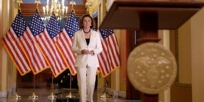 Pelosi gefur fyrirmæli um gerð ákæru gegn Trump