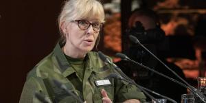 Lena Hallin, forstjóri leyniþjónustu sænska hersins, Must.