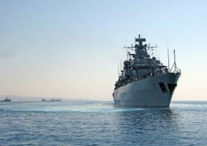 ESB-flota verður nú beitt gegn sölu vopna til Líbíu.