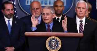 Director of the National Institute of Allergy and Infectious Diseases at the National Institutes of Health Dr. Anthony Fauci speaks about the COVID-19  (coronavirus) alongside Vice President Mike Pence and members of the Coronavirus Task Force in the Brady Press Briefing Room at the White House in Washington, DC, March 9, 2020. (Photo by SAUL LOEB / AFP) (Photo by SAUL LOEB/AFP via Getty Images)