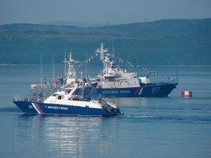 Rússnesk varðskip á vegum FSB.