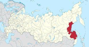 Það er varla unnt að komast austar í Rússlandi en til Khabarovsk.