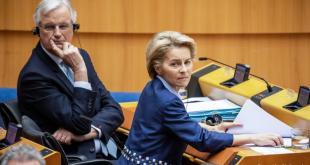 Michel Barnier og Ursula von der Leyen.