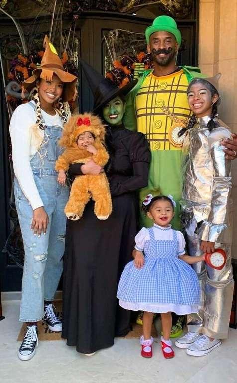 Familia de Kobe Bryant
