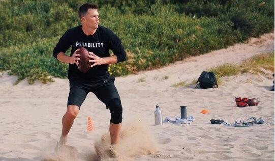 Tom Brady entrenamiento