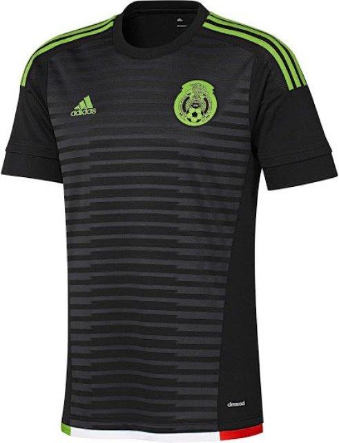 México playera negra 2015
