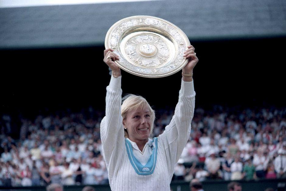 Martina Navratilova Wimbledon